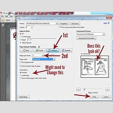 How To Print 2 Printables On 1 Sheet Of Paper (pdf Files)  Comic Con Family