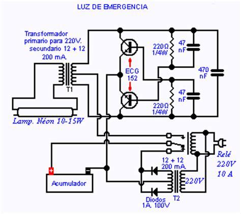 hacer funcionar una luz de emergencia p 225 2
