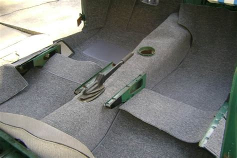 How To Remove And Install New Carpet In Your Classic Car