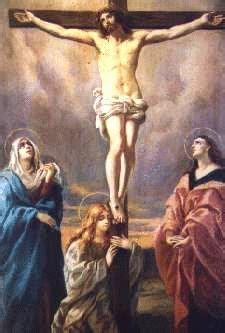 quinto misterio doloroso crucifixion muerte santo rosario