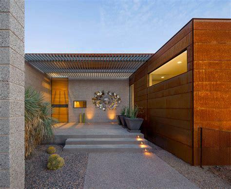 modern entrances designed  impress architecture