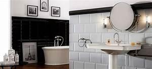 carrelage metro dans la salle de bains style garanti With carrelage salle de bain metro