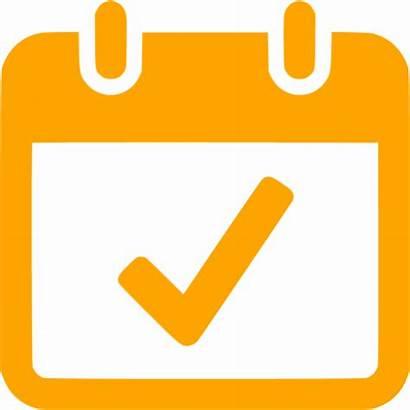 Today Icon Orange Icons Calendar Custom Iconsdb