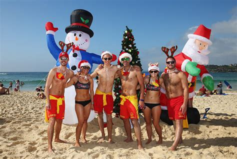australians to celebrate christmas day with a scorcher