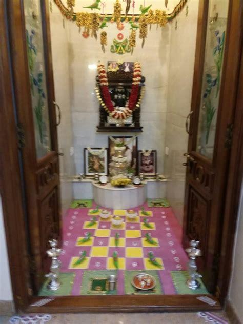 decoretion ideas  house temple design  pooja room