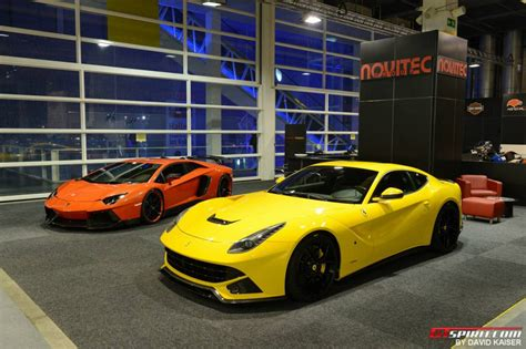 Supercars And Girls At Auto Zurich 2013 Gtspirit