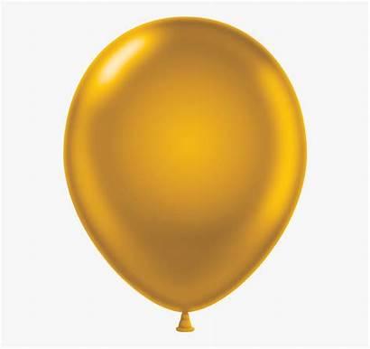 Balloon Clipart Golden Cartoon Transparent Cliparts Clip