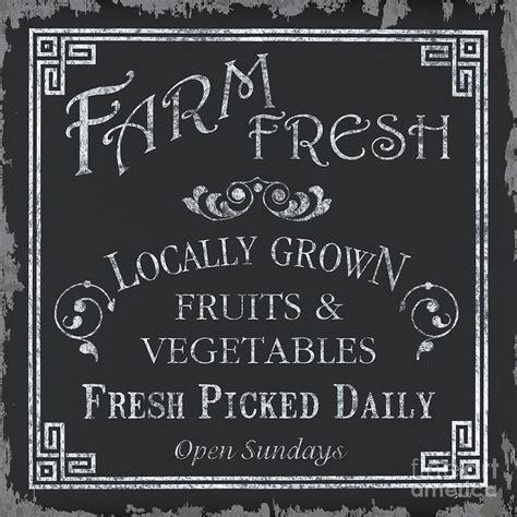 farm fresh sign painting by debbie dewitt