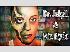 Halloween FX Makeup Half Face Skull Dr Jekyll & Mr Hyde