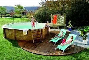 Comment amenager autour une piscine hors sol for Lovely deco autour d une piscine 3 piscine hors sol bois