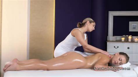 Naked Lesbian Gets Oil Massage With Stones Eporner