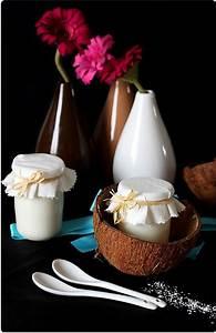 Yaourt Noix De Coco : yaourt la noix de coco chefnini ~ Melissatoandfro.com Idées de Décoration