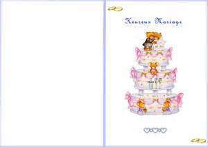 carte felicitation mariage gratuite ã imprimer carte a imprimer mariage