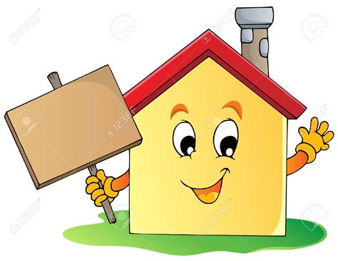 Pencil And In Color House Clipart