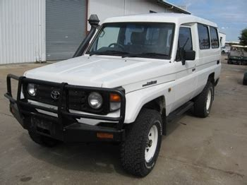toyota landcruiser troop carrier townsville pickup