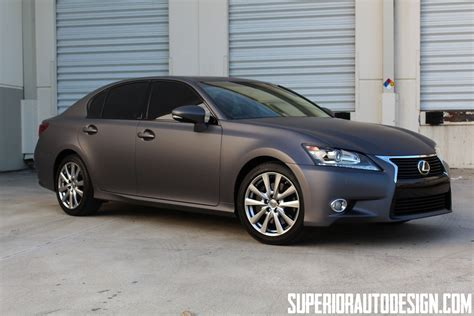 Photos Matte Grey Lexus Gs In Miami Lexus Enthusiast