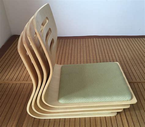 siege de sol 4 pcs lot japonais sans jambes chaise siège coussin
