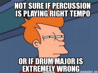 Drum Major Meme - 191 best images about band puns on pinterest orchestra flute and drums