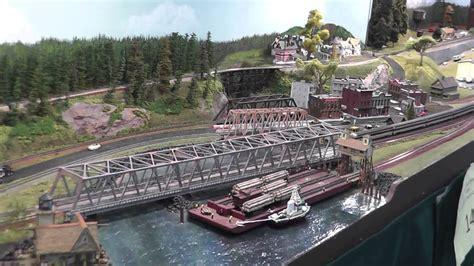 N Scale Layout (harbor Bridge)  Monroe Train Show Youtube