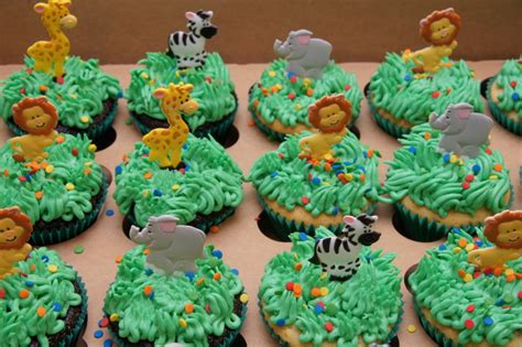 Zoo  Ee  Themed Ee   Cupcakes Cake In Cup Ny