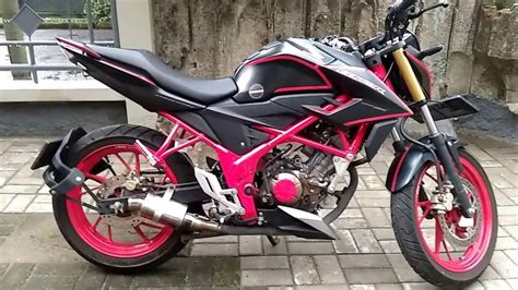 Cb 150r Modif by 102 Modifikasi Motor All New Cb150r Modifikasi Motor