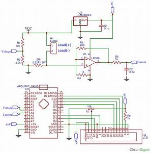 Arduino Wattmeter  Measure Voltage  Current And Power