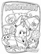 Vegetables Incredible League Veggietales Coloring Pages Veggie Tales Dvd Superhero Jesus Super Birthday Vegetable Hero Printable Away Give Printables Different sketch template