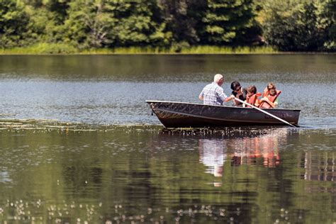 Row Your Boat Rentals by Park Amenities Pinewood Lodge Cground