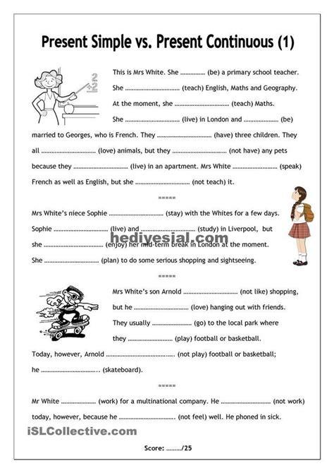 present perfect arbeitsblaetter worksheets