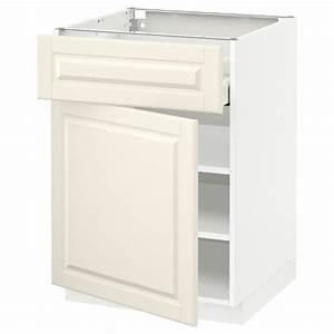Ikea Metod Unterschrank : metod unterschrank mit schublade t r wei bodbyn ~ Watch28wear.com Haus und Dekorationen