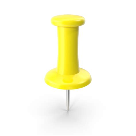 Yellow Thumbtack Png Images & Psds For Download