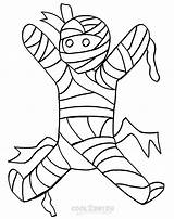 Mummy Coloring Pages Printable Halloween Coffin Template Sheets Cool2bkids sketch template