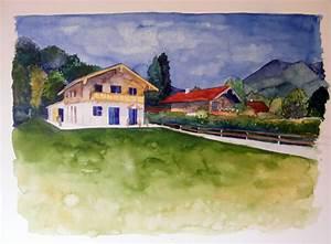 Wie Finanziert Man Ein Haus : wie malt man ein haus bilder aquarelle vom meer mehr von frank koebsch ~ Markanthonyermac.com Haus und Dekorationen