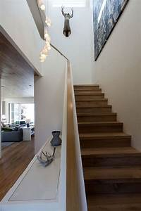 Main Courante Escalier Intérieur : escalier en bois moderne tous les mod les en 55 photos ~ Edinachiropracticcenter.com Idées de Décoration