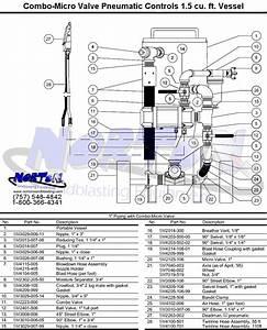 Parts- Combo Micro Valve 1 5 Cu Ft