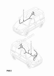 Sliding Door Wire Harness
