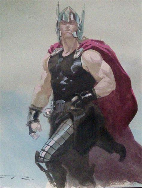 Esad Ribic Thor Comic Art Esad Ribic Art Marvel Art