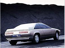 Les concepts Bertone Alfa Romeo Delfino 1983