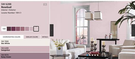 sherwin williams rosebud color in 2018