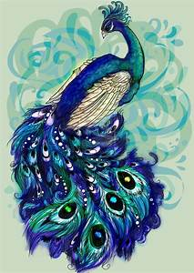 peacock drawing outline for glass painting - Google Search ...