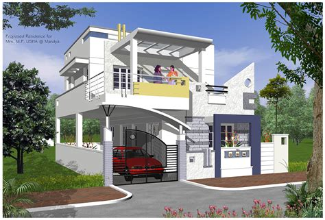 Indian Home Exterior Design Software by Interior Plan Houses Home Exterior Design Indian House