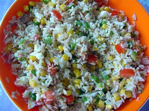 3 recette de cuisine recette de salade de riz par comeleo