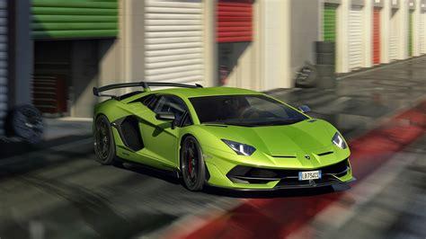 lamborghini aventador svj   wallpaper hd car