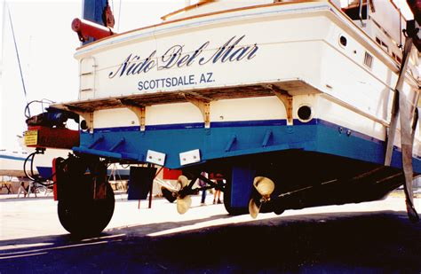 Boat Mechanic Oxnard by Nido Del Mar Repowering A 48 Ft Offshore Yachtfisher