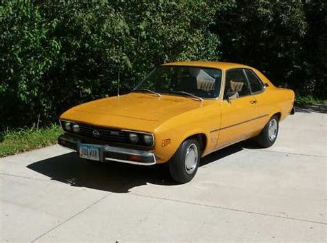 1974 Opel Manta For Sale by 1974 Opel Manta German Cars For Sale