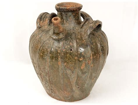 cuisine romaine antique jar glazed terracotta centre auvergne