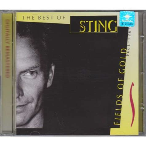 sting fields of gold best of fields of gold the best of sting 1984 1994 by sting cd