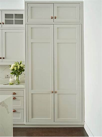 Kitchen Pantry Shaker Grey French Cabinet Cabinets