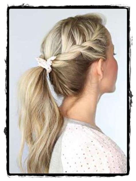 beautiful simple hairstyles  school  cute