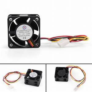 Dc Brushless Cooling Pc Computer Fan 12v 0 2a 4020b